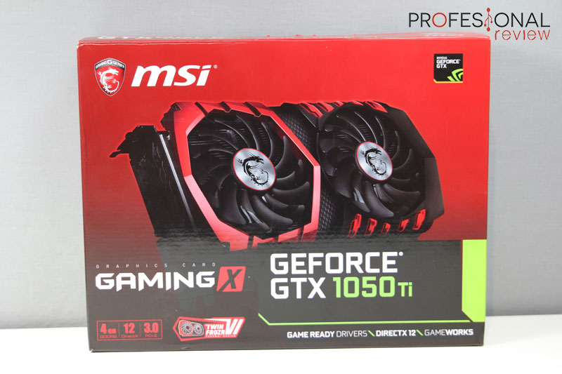 MSI GTX 1050 Ti Gaming review