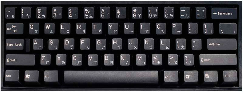 teclado-chino