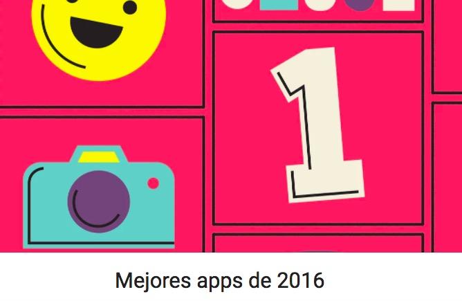 Las mejores apps del 2016 para Google