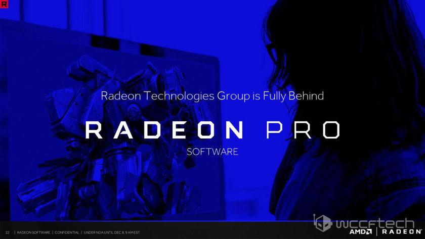 Photo of Radeon Software Crimson ReLive Pro, nuevos drivers para profesionales