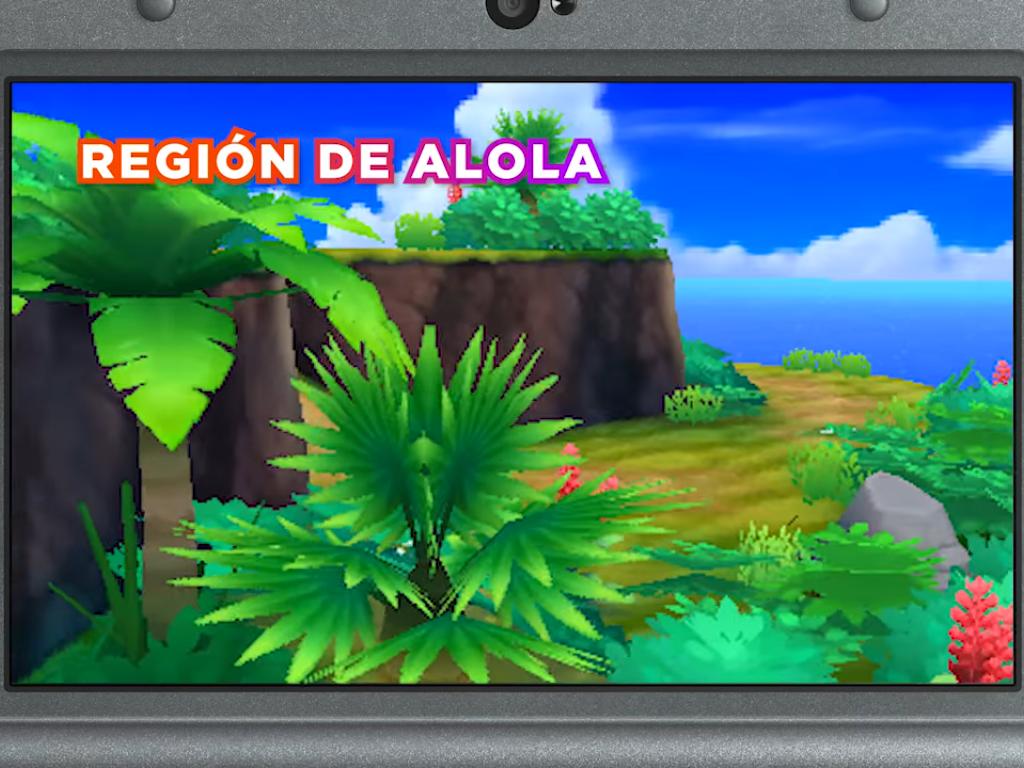 nueva región de Alola