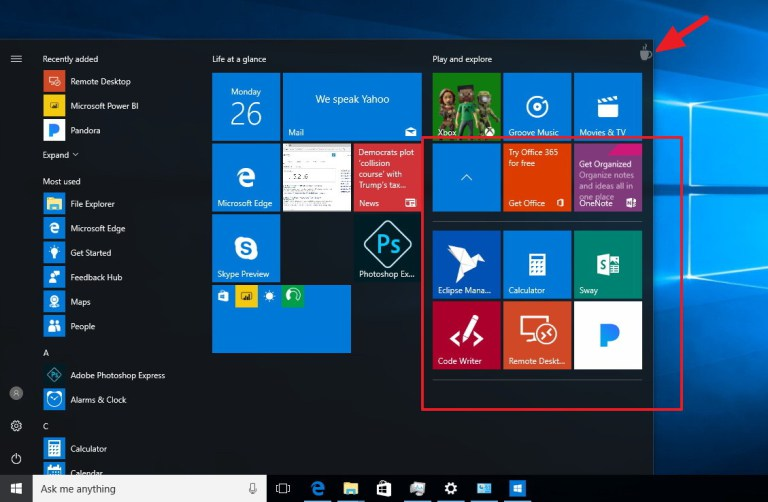 Windows 10 Build 14977