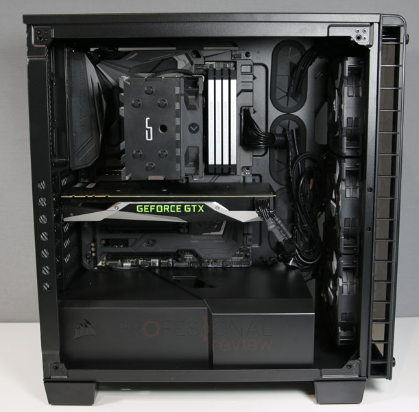Corsair 460X Crystal build