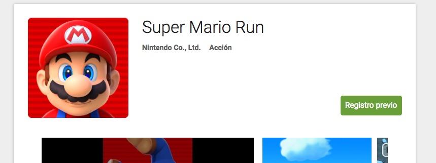 descargar super mario run play store