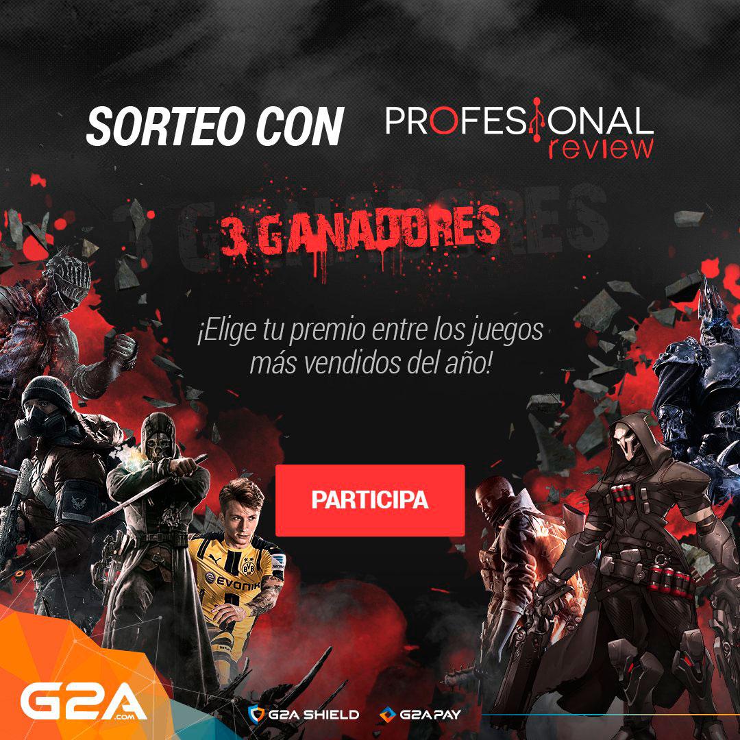 Photo of Sorteamos 3 de los mejores juegos de 2016 de G2A (Sorteo Activo)
