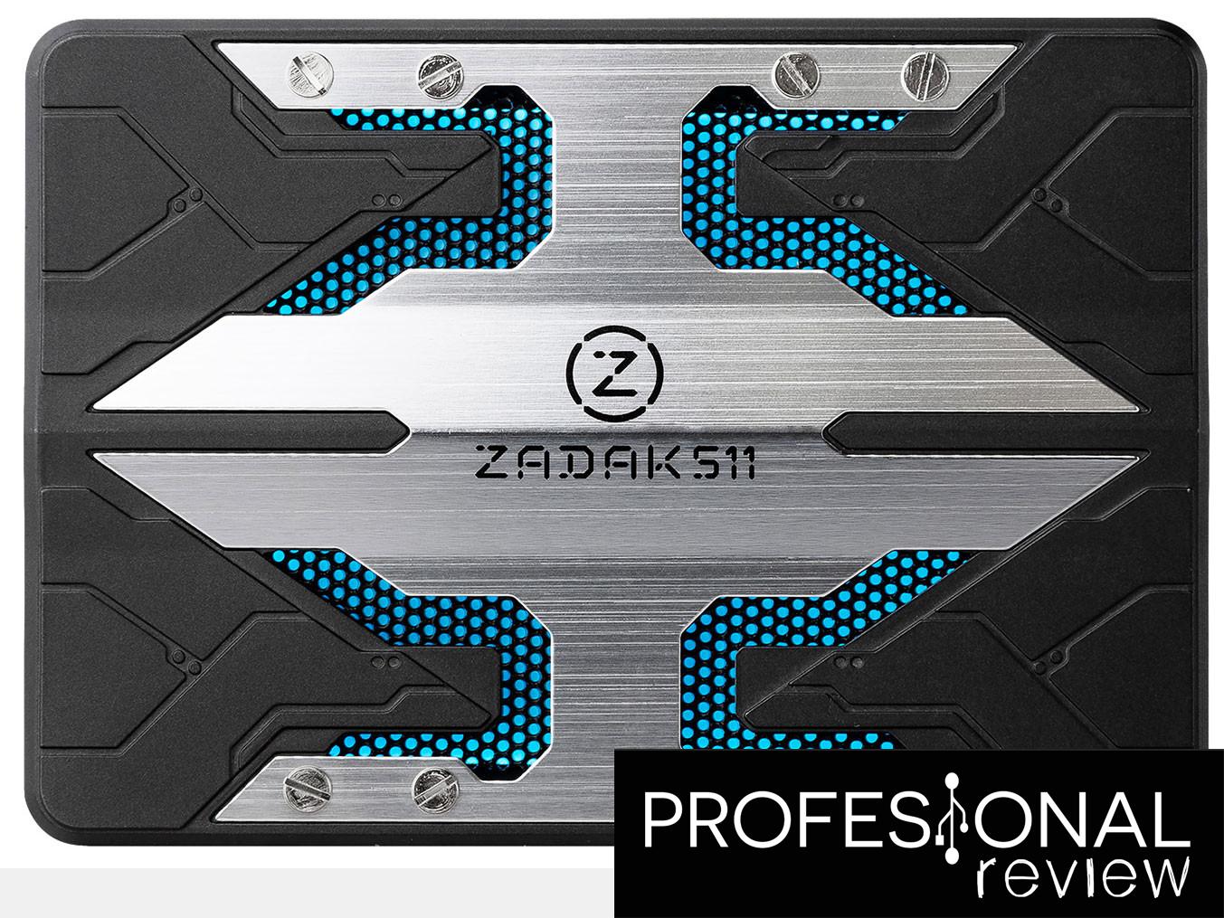 El SSD de ZADAK511 incluye iluminación RGB