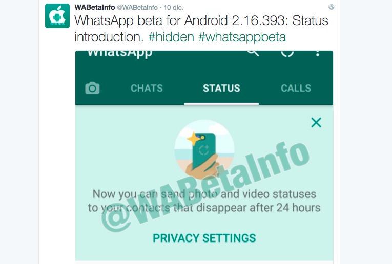 Whatsapp Beta 216393 Para Android Añade Dos Interesantes