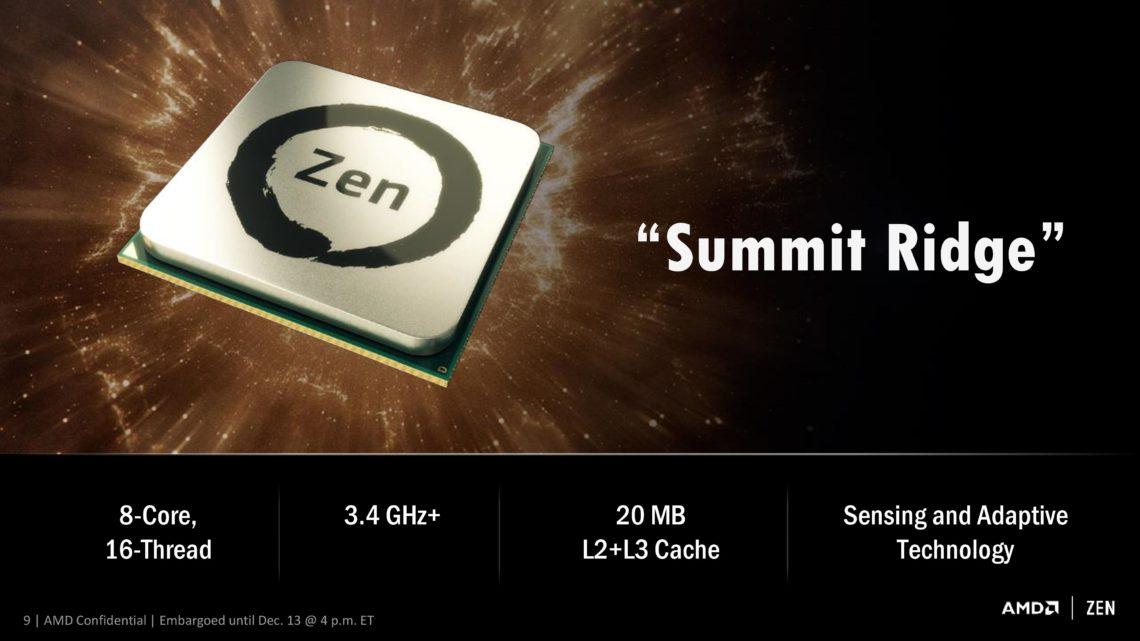Photo of AMD afirma que su CPU Zen tendrá una vida de 4 años
