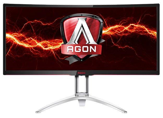 Photo of AOC AGON AG352UCG, panel curvo de 35″ con G-Sync