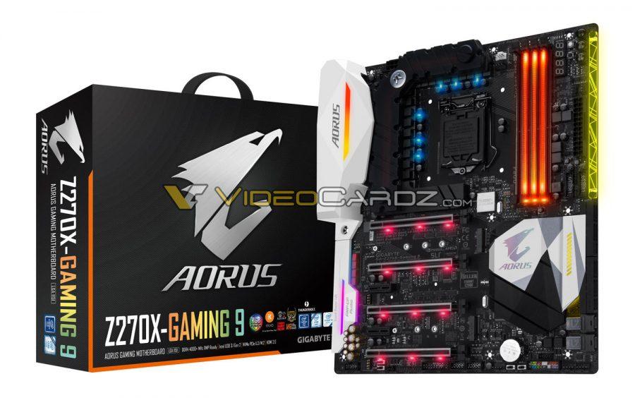 Photo of Aorus Z270X-Gaming 9, Aorus Z270X-Gaming 8 y Aorus Z270X-Gaming K5