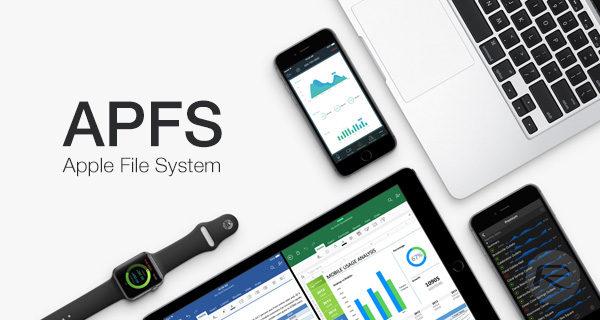 sistema archivos APFS