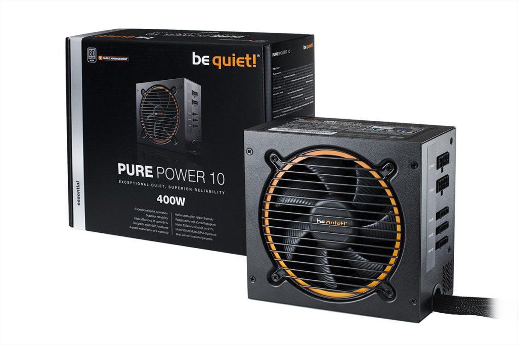 Be Quiet! Pure Power 10, nuevas fuentes silenciosas de 400 a 700 W