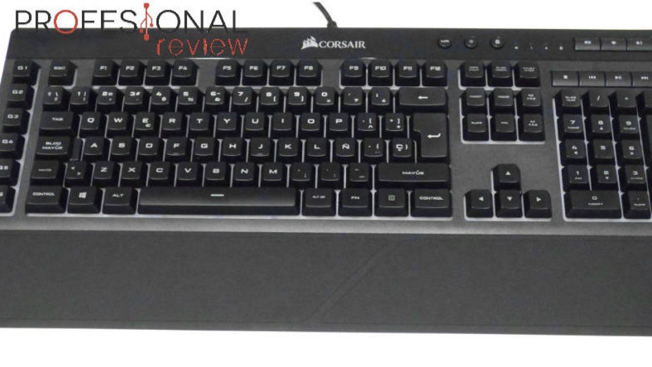 Corsair K55 RGB Review en Español (Análisis completo)