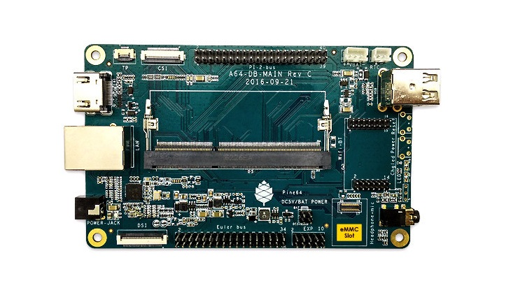 Photo of SOPINE A64 con 2GB de RAM, Competencia para Raspberry Pi