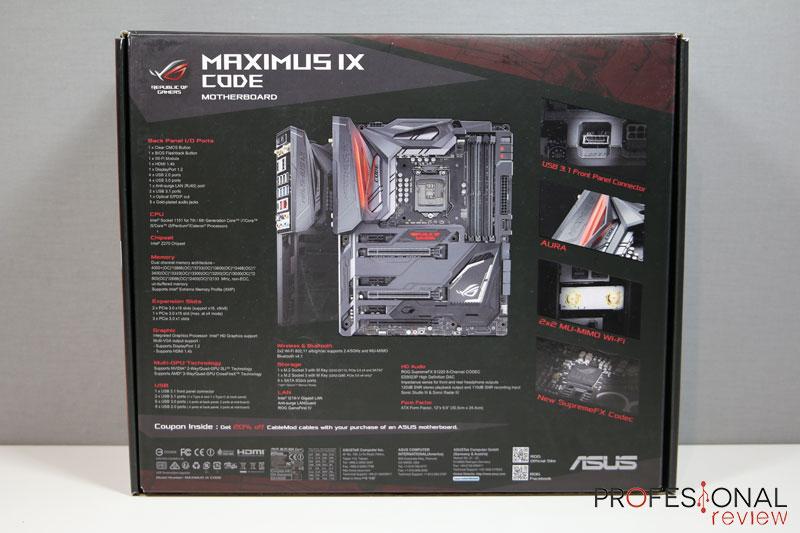 Asus Maximus IX Code
