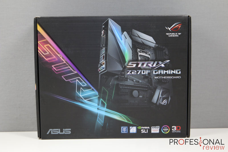 Asus Z270F Strix Gaming review