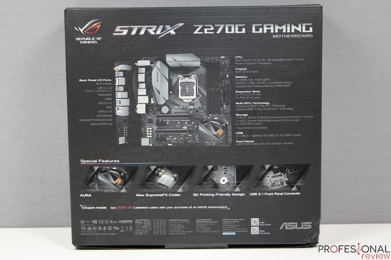 Asus Z270G Strix Gaming