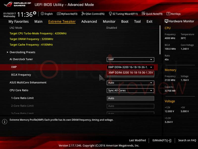 Cómo activar perfil XMP BIOS