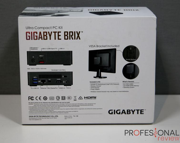 Gigabyte Brix GA-BKi5A-7200