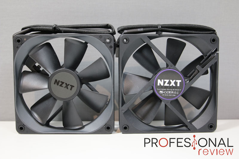 NZXT Kraken X52 ventiladores