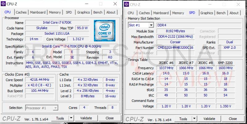 Cómo activar perfil XMP CPU-Z