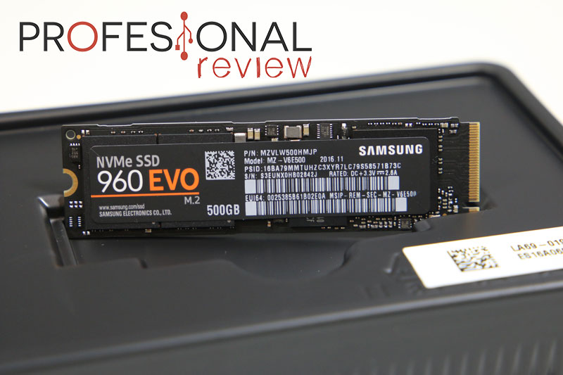 Samsung 960 EVO review