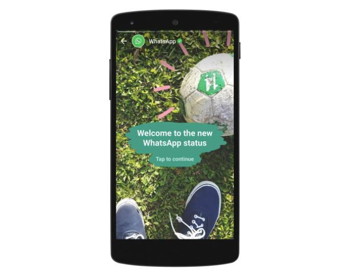 Añade multimedia a los estados de WhatsApp