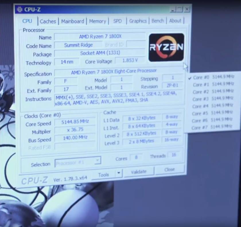 Photo of AMD Ryzen 7 1800X a 5,2 GHz rompe el record mundial en Cinebench