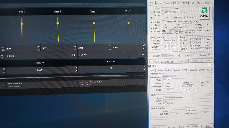 AMD Ryzen bajo LN2 , así es su herramienta de overclock