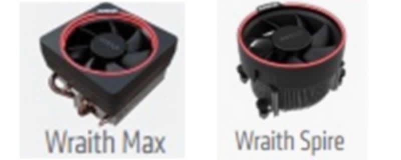 AMD Wraith Spire y Max