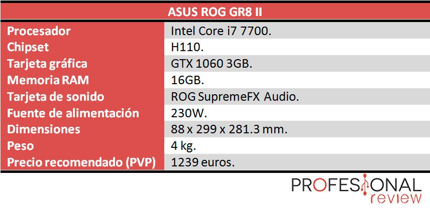 Asus GR8 II caracteristicas