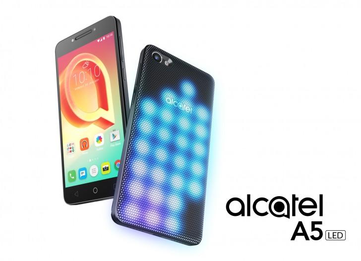 Alcatel A5 LED las luces RGB llegan a los móviles