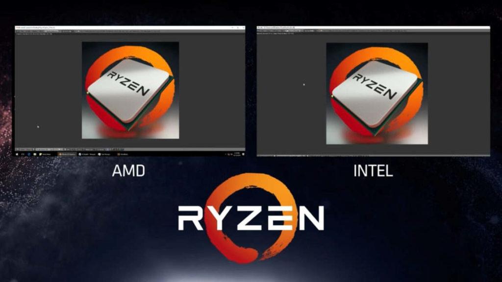 Intel menosprecia el potencial de Ryzen
