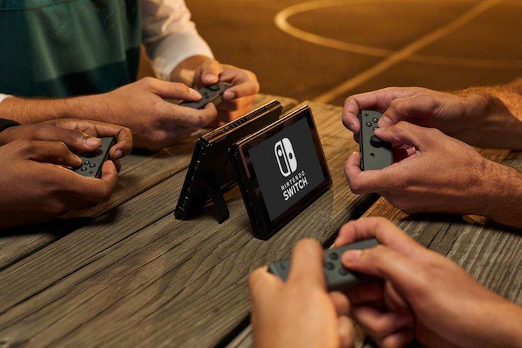 Nintendo Switch apuesta por el juego en red local