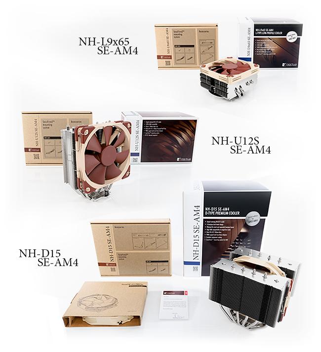 Photo of Noctua tres ediciones de sus disipadores para Ryzen