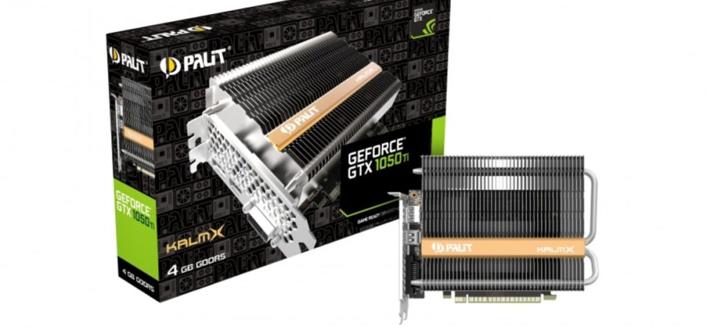 Palit GeForce GTX 1050 Ti pasiva