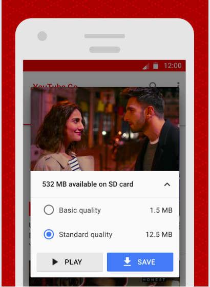 YouTube Go te permite guardar los vídeos en la tarjeta de memoria