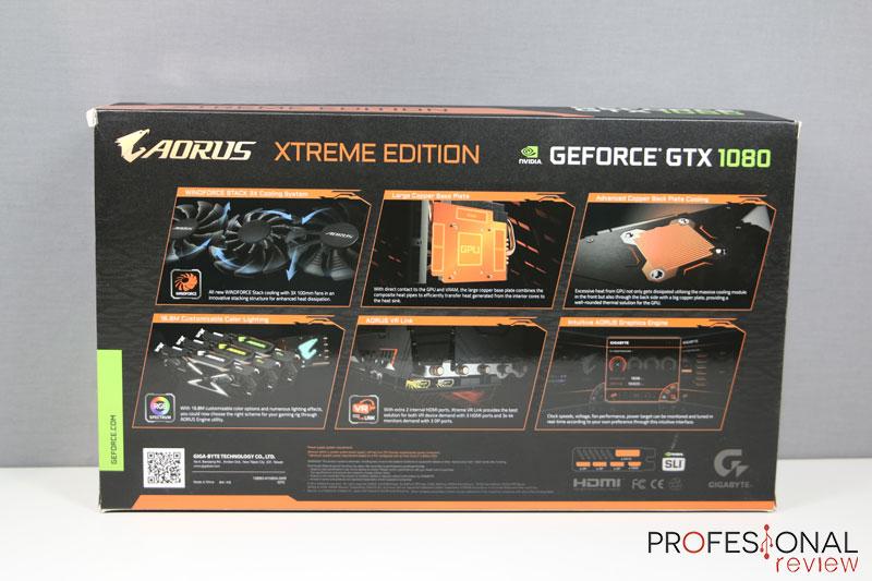 Aorus GTX 1080 Xtreme Edition