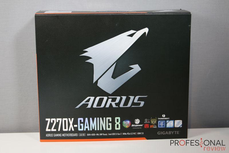 Gigabyte Aorus Z270X Gaming 8 review