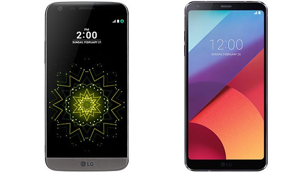 lg g5 vs lg g6