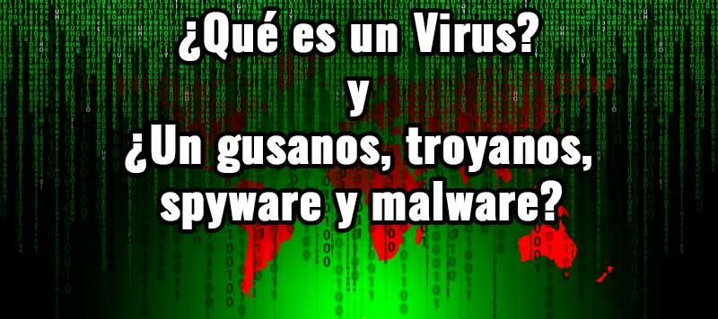 Photo of Diferencias entre virus, gusanos, troyanos, spyware y malware