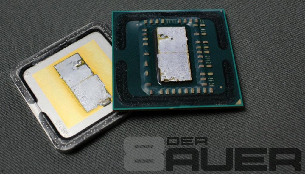 AMD Ryzen no sigue la moda de Intel de usar compuesto térmico de mala calidad