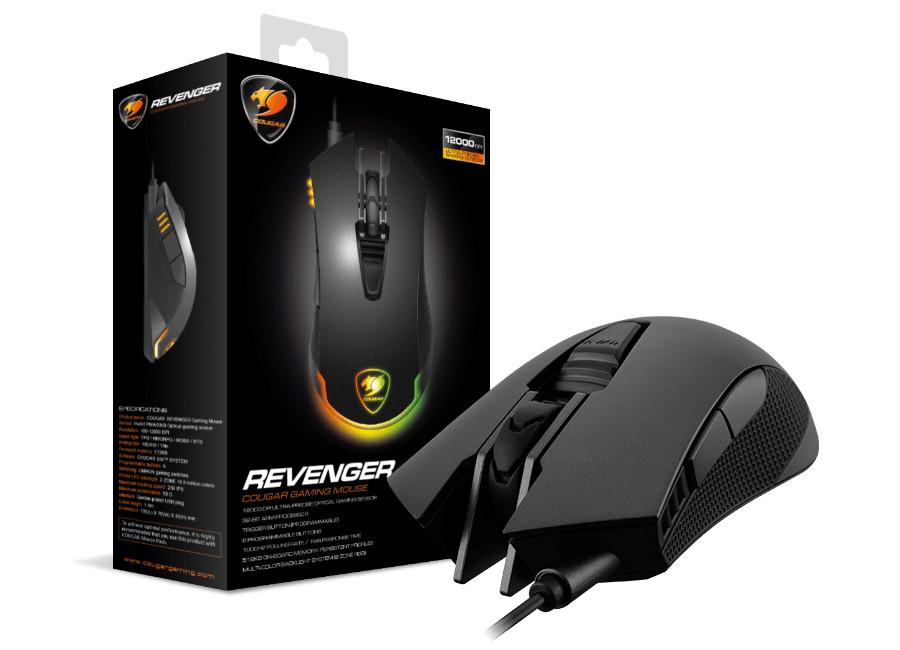 Cougar revenger, nuevo ratón óptico de alta gama