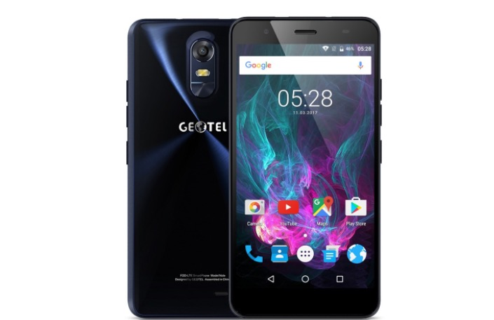 Geotel Note 4