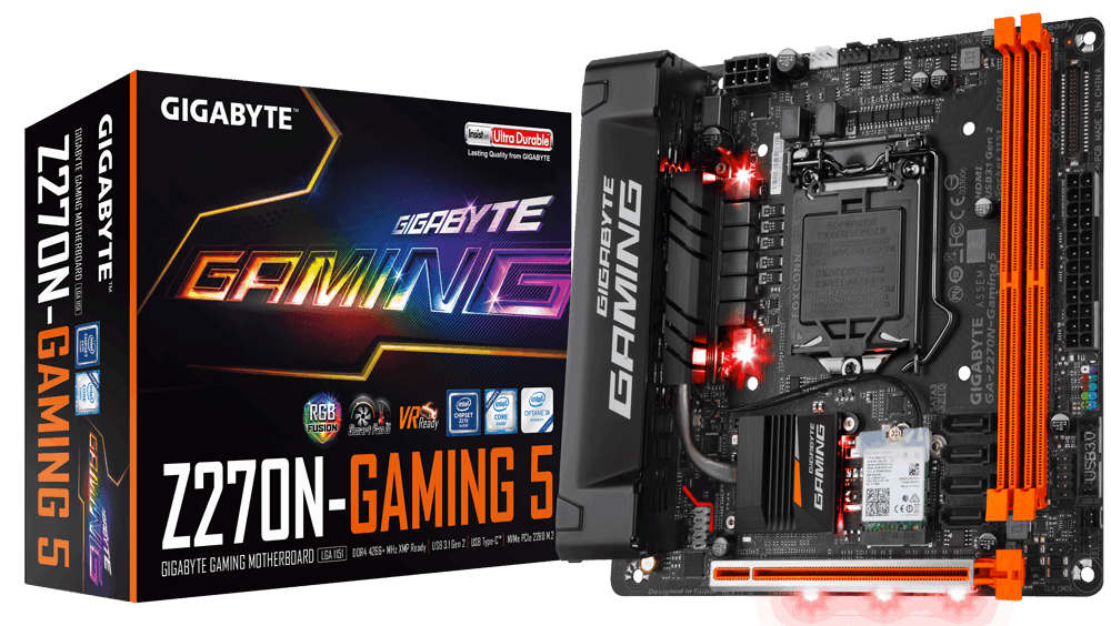 Nueva placa base Mini-ITX Gigabyte GA-Z270N-Gaming 5