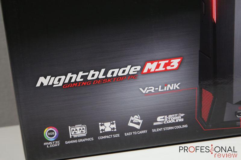 MSI Nightblade Mi3 VR