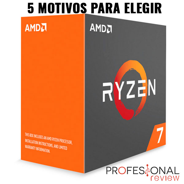 Photo of Motivos para comprar AMD Ryzen: R7 1700 / R7 1700X / R7 1800X