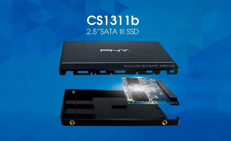 Photo of PNY CS1311B Nuevos SSD con escrituras de 510 MB/s