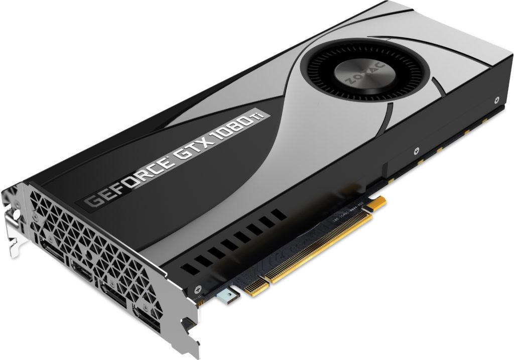 Zotac Geforce GTX 1080 Ti detalladas