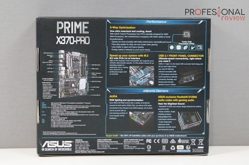 Asus Prime X370-PRO